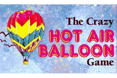 CRAZY GAME: HOT AIR BALLOON (CRAZY GAMES) By Price Stern ...