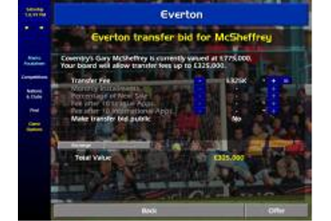 Championship Manager: Season 99/00 Download (2000 Sports Game)