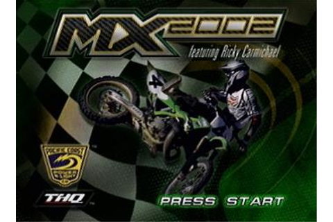 Screens: MX 2002 featuring Ricky Carmichael - PS2 (1 of 44)