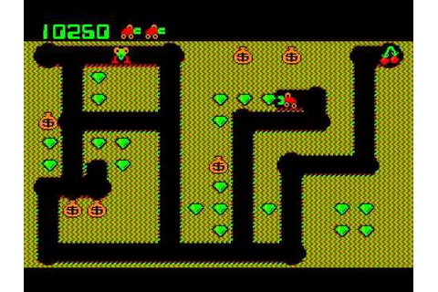Digger (1983) DOS PC Game - YouTube