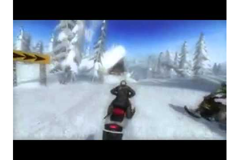 Ski-Doo: Snowmobile Challenge - Game Trailer - YouTube