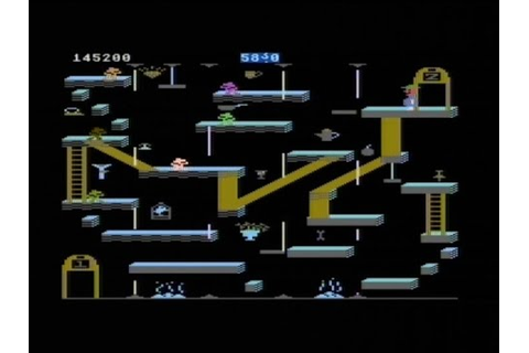 BOUNTY BOB STRIKES BACK! (ATARI 800XL - FULL GAME) - YouTube