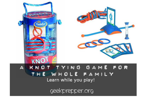 Knot Tying Game for the Family - Geek Prepper