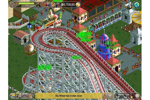 Roller Coaster Tycoon Classic review: Amusement park ...