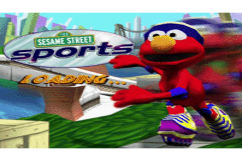 Sesame Street Sports Elmo's Skating Race Game Full ...