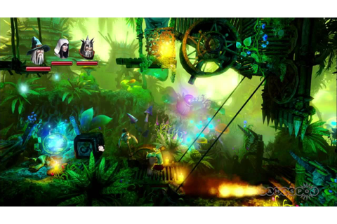 Trine 2 Green Forest Gameplay Movie (PC, PS3, Xbox 360 ...
