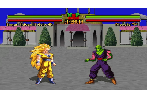 Dragon Ball Z: Ultimate Battle 22 [PS1] - Super Saiyan 3 ...