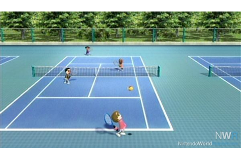 Wii Tennis: Play on the Practice Court - Feature ...