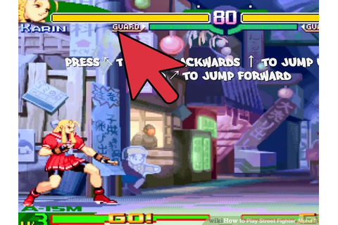How to Play Street Fighter Alpha 3: 13 Steps (with Pictures)