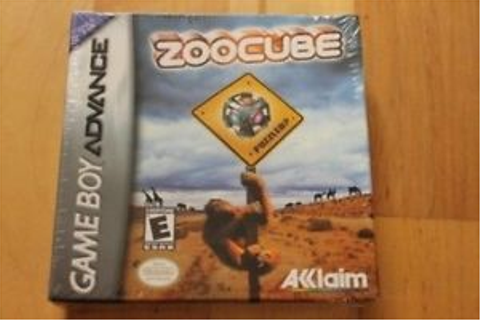 ZooCube GBA Gameboy Advance New Factory Sealed | eBay