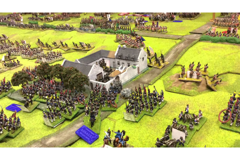 Falkirk Wargames Club: Waterloo 200th Anniversary Battle ...