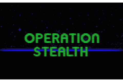 Operation Stealth (1990) by Delphine Software Amiga game