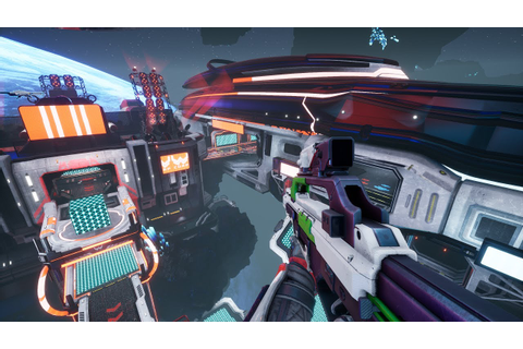 8 Minutes of Expert-Level Splitgate: Arena Warfare ...