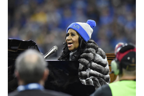 WATCH: Aretha Franklin's amazing national anthem rendition ...