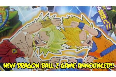 NEW 2016 DBZ GAME ANNOUNCED: Dragon Ball Fusions for the ...