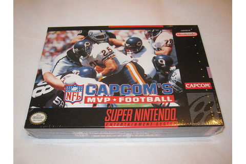 Capcom's MVP Football (Super Nintendo SNES) Brand New ...