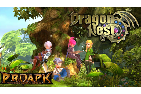 DRAGON NEST MOBILE Android Gameplay (CN) - YouTube