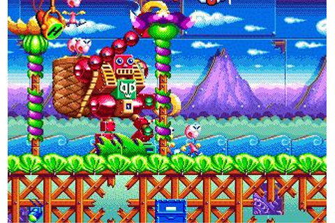 Dynamite Headdy Download (1994 Arcade action Game)