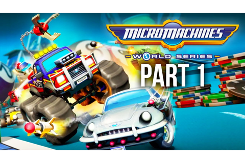 MICRO MACHINES WORLD SERIES Gameplay Walkthrough Part 1 ...