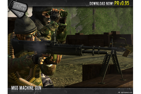 M60 Machine Gun image - Project Reality: Battlefield 2 mod ...