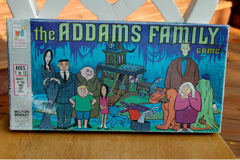 Vintage The Addams Family Board Game