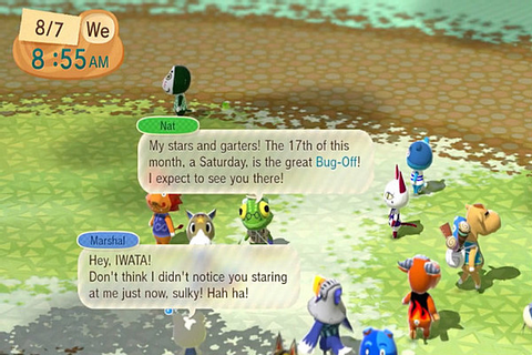 Animal Crossing Plaza Goes Live on Wii U