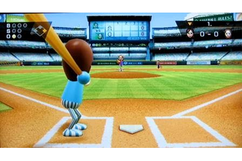 DANIEL thomas VOL 4: Wii Game Proposal #1: Wii Sports Baseball