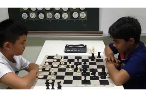 Power chess game: Darion vs Samay - YouTube