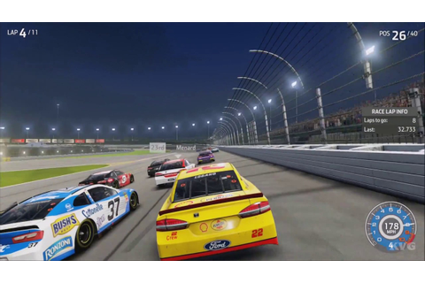 NASCAR Heat 3 - Gameplay (PS4 HD) [1080p60FPS] - YouTube