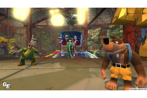 Banjo Kazooie: Nuts & Bolts Review - GamingExcellence
