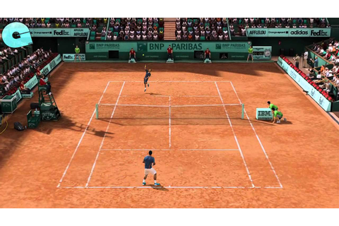 Grand chelem tennis 2-Découverte - YouTube