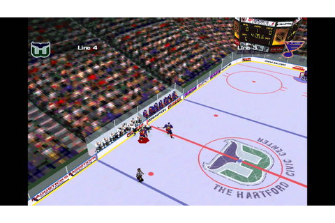 NHL 97 PC Gameplay - YouTube