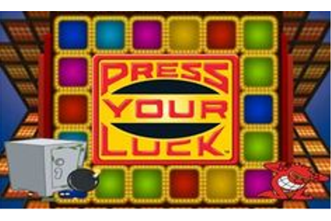 16 Best PRESS YOUR LUCK images | Press your luck, Old ...