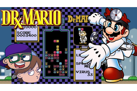 Dr Mario SNES Gameplay | First Time Playing Tetris/Doctor ...