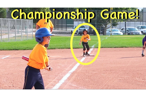 GIRL SCORES WINNING RUN IN BASEBALL CHAMPIONSHIP GAME ...