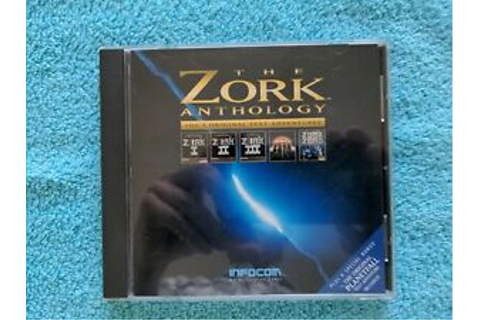 Infocom The Zork Anthology 5 Original Text Adventures CD ...