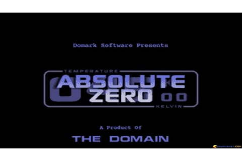 Absolute Zero gameplay (PC Game, 1995) - YouTube