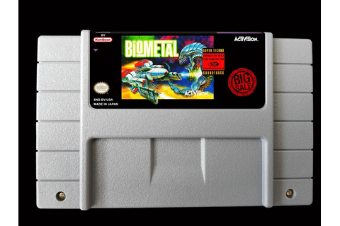 16Bit Games ** BioMetal ( USA Version!! )-in Game Deals ...