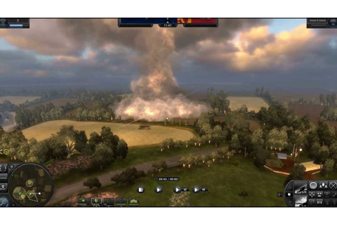 World in Conflict PC Game - Tug of War Mode - Bocage Map ...