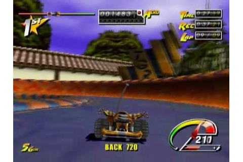 Stunt GP (PS2 Gameplay) - YouTube
