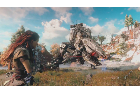 Horizon Zero Dawn Gameplay Demo - YouTube