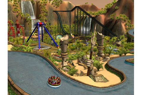 Games PC: roller coaster tycoon 3 PC Game |Mediafire|
