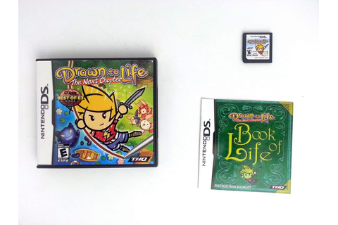 Drawn to Life: The Next Chapter game for Nintendo DS ...