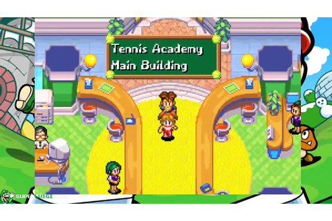 Mario Tennis: Power Tour (Game Boy Advance) Gameplay - YouTube