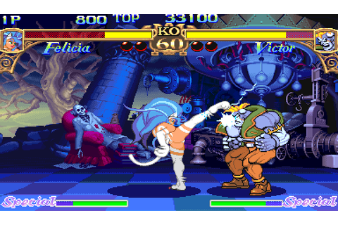 Play Darkstalkers: The Night Warriors (USA 940705 Phoenix ...