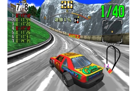 Daytona USA (1994) Arcade Retro Review - Retroheadz