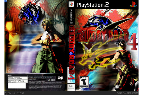 Bloody Roar 4 PlayStation 2 Box Art Cover by f fanatic