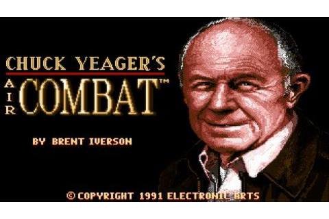 Chuck Yeager's Air Combat gameplay (PC Game, 1991) - YouTube