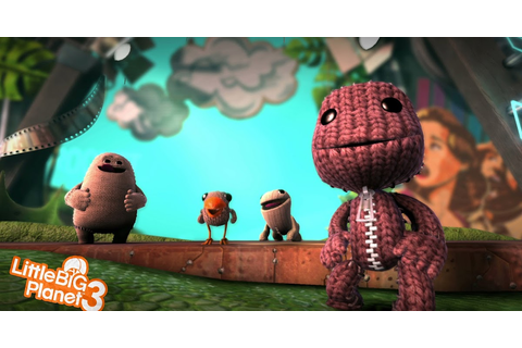 Little Big Planet 3 Game Wallpaper HD