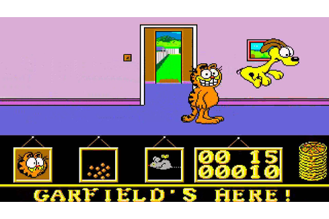 ATARI ST GARFIELD BIG FAT HAIRY DEAL By The Edge ...